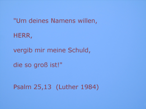 Himmel+Ps25,13